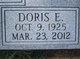 Profile photo:  Doris Ellen <I>Lewis</I> Benton
