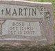 """Rose J. """"Rosie"""" <I>Palumbo</I> Martin"""