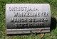 Christina Margareth F. <I>Stifel</I> Winkelmeyer