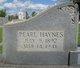 Pearl <I>Haynes</I> Acker