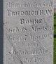 Friedrich H. W. Bohne
