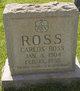 "Charles Rickard ""Carlos"" Ross Jr."