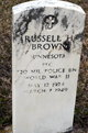 PFC Russell Mertin Brown