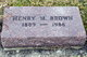 Henry M. Brown