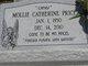 "Mollie Catherine ""Cathy"" <I>Price</I> Gibbons"