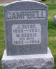 Profile photo:  Joseph Clyde Campbell