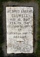 Mildred <I>Abrams</I> Calwell