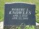 "Profile photo:  Robert Leroy ""Bob"" Knowles"