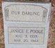 Profile photo:  Janice E. Poole
