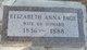 Elizabeth Anna <I>Van Alstine</I> Page