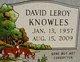 "Profile photo:  David Leroy ""Leroy"" Knowles"
