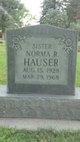 Norma Ruth <I>Underwood</I> Hauser