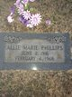 Profile photo:  Allie Marie <I>Young</I> Phillips