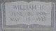 William H Griggs