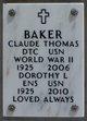Claude Thomas Baker