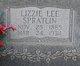Lizzie Lee <I>Spratlin</I> Griggs