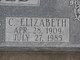 Profile photo:  C Elizabeth Schofield