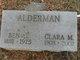Profile photo:  Clara Maude <I>Mills</I> Alderman