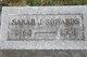 Sarah Jane <I>Davison</I> Sowards