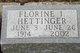 Florine I. <I>Trenary</I> Hettinger