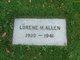 Lorene M <I>Flagler</I> Allen