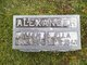 "Profile photo:  Sarah Louella ""Ella"" <I>Walden</I> Alexander"