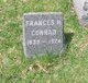 Profile photo:  Frances <I>Hendrickson</I> Conrad