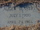 Profile photo:  Alger Thomas Avery