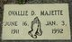 Ovallie D Majette