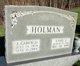 Ethel Jane <I>Jarvis</I> Holman
