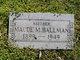 Maude M <I>Smith Stilwell</I> Ballman