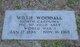 Willie Woodall