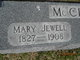 Profile photo:  Mary <I>Jewell</I> McClain