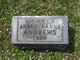 "Profile photo:  ""Infant"" Andrews"