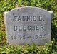 Fannie E. Beecher