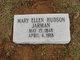 Mary Ellen <I>Hudson</I> Jarman