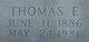 Profile photo:  Thomas Emery Babb