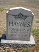 Profile photo:  Corneleus W Haynes