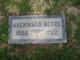Profile photo:  Archibald Lester Acord
