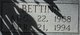 Profile photo:  Bettina <I>Blackwelder</I> Blackmar