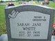 Sarah Jane <I>Heavin</I> White