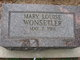Mary Louise Wonsetler