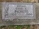 Essie Aldean <I>Smith</I> Pickett