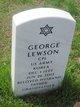 Profile photo:  George Lewson