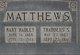 Rev Thaddeus S Matthews