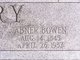 Profile photo:  Abner Bowen Perry