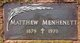 Matthew Menhenett