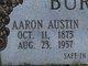 Profile photo:  Aaron Austin Burnette