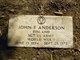"Profile photo:   John Frederick "" "" <I> </I> Anderson,"