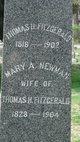 Profile photo:  Mary A. <I>Newman</I> Fitzgerald
